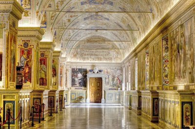 Пътешествие из музеите на Ватикана