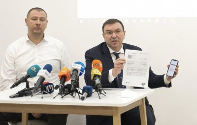 Bulgaria's Health Minister presented the electronic certificate of Covid-19 vaccination