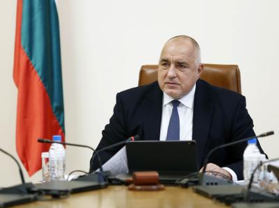 Bulgaria's Prime Minister Boyko Borissov congratulates US President Joe Biden on his inauguration