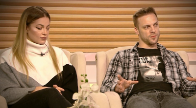 """Евгения и Ваня Джаферович - гости в студиото на """"Извън играта"""""""