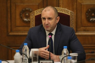 President Radev met with parliamentary parties as part of election consultations