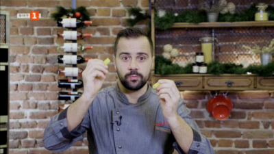 Пастицио и сладкиш с орехи, канела и портокалов сироп