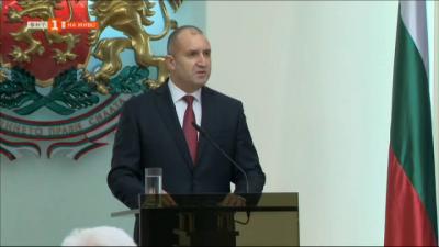 Президентът Румен Радев отчете четвъртата година от встъпването си в длъжност, ще се кандидатира за втори мандат