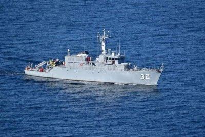 """Mayın avcısı """"Ciber"""" NATO'nun Karadeniz ve Ege tatbikatında"""