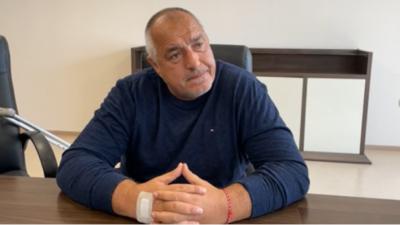 Boyko Borisov hastaneden GERB-SDS kabine taslağını tanıttı