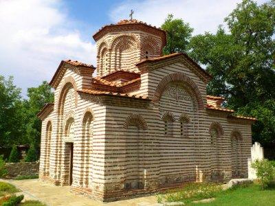 """Средновековната църква """"Св.Георги"""" в Кюстендил"""