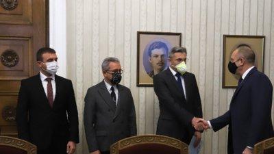 DPS- Cumhurbaşkanı Rumen Radev görüşmesi sona er