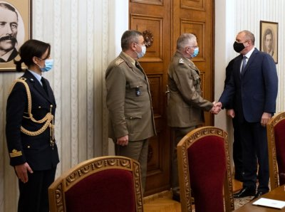 President Radev met with chairman of EU Military Committee General Graziano