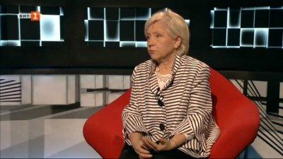 Журналистът Александрина Исайлова в БНТ на 60