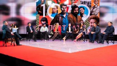 """Специално студио за премиерата на най-новия български сериал """"Порталът"""""""