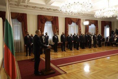 Cumhurbaşkanı Radev'in atadığı geçici hükümet göreve başladı