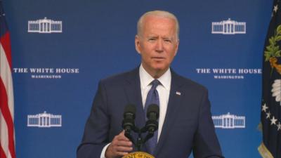 US President Joe Biden via video link: The United States supports the Three Seas initiative