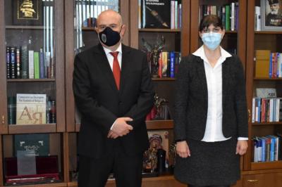 Bulgaria's Chief Prosecutor, Ivan Geshev, met with the EU Chief Prosecutor, Laura Kövesi