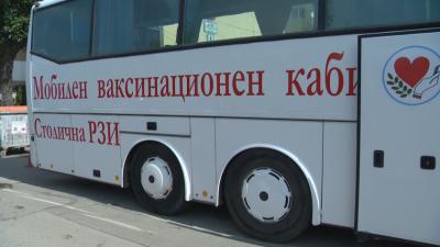 Covid-19: Mobile vaccination bus starts operating in Sofia tomorrow