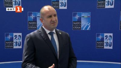 Bulgaria's President Rumen Radev will particpate in NATO Summit in Brussels