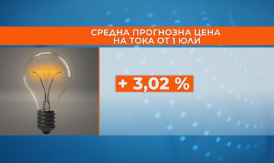 Electricity prices will go up from July 1