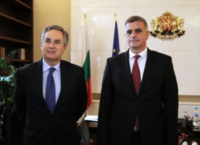 Bulgaria's caretaker PM and Ambassador of Spain discussed cooperation within EU and NATO