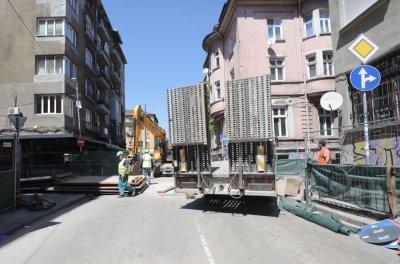 Как върви ремонтът на улица Шишман в София