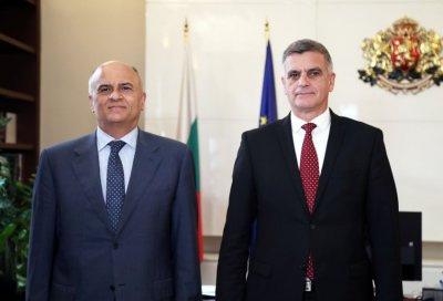 Caretaker Prime Minister discussed the construction of the gas interconnector with the Greek ambassador