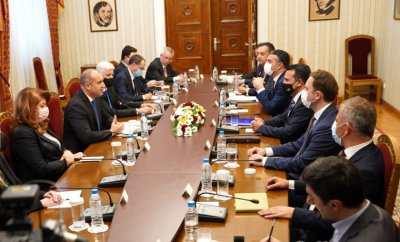 President Radev after the meeting with Republic of North Macedonia's PM Zaev: I hope for a pragmatic approach with specific, sustainable results