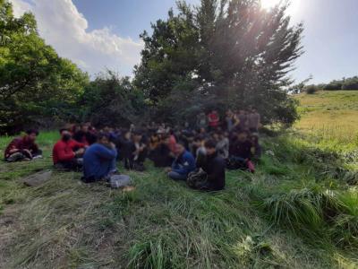 69 yasadışı mülteciyi İhtiman ormanında yaktıkları ateş ele verdi