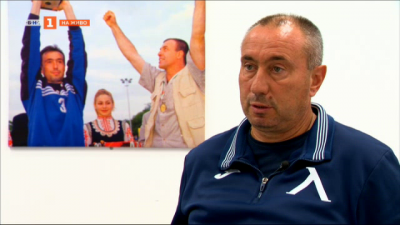 "Треньорът на ""Левски"" Станимир Стоилов говори специално за ""Арена спорт"""